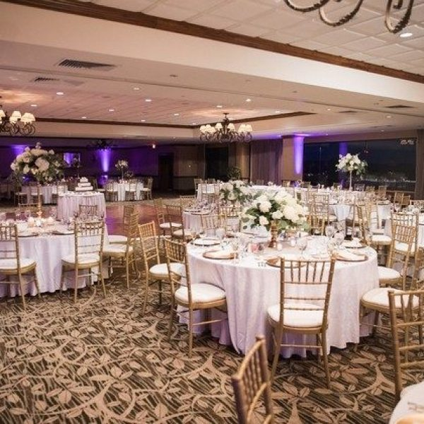 Ballroom wedding reception at Grant Geneva