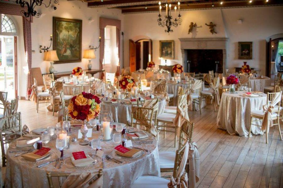 Elegant wedding receptions at Villa Terrace Decorative Arts Museum