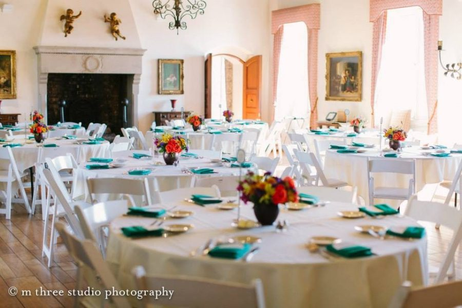 Wedding reception at Villa Terrace Decorative Arts Museum