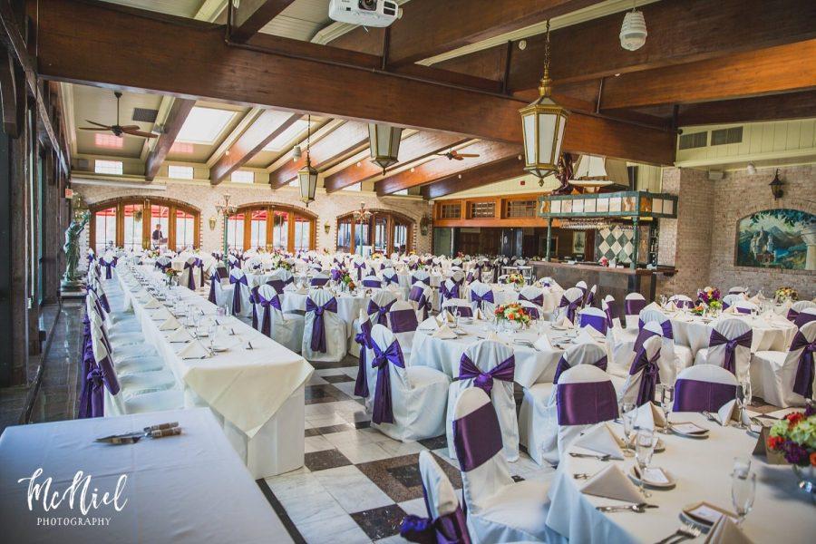 Wedding receptions at Golden Mast
