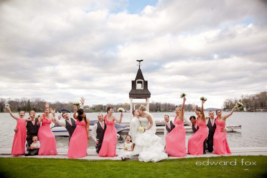 Weddings on Okauchee Lake at the Golden Mast