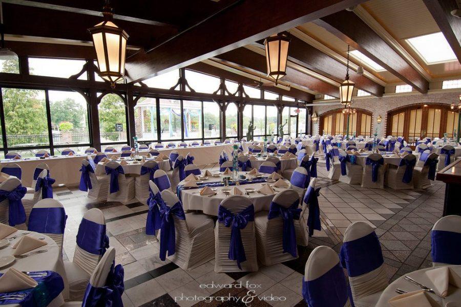 Golden Mast wedding reception