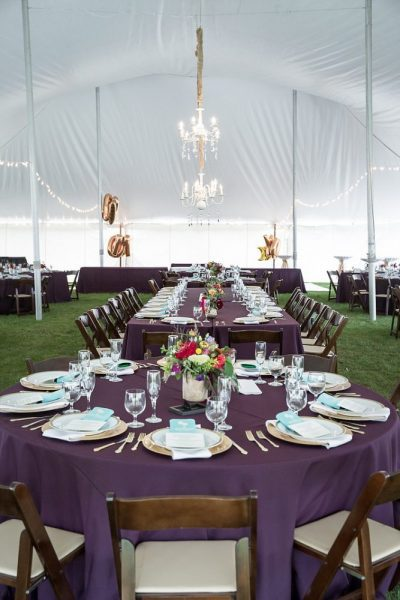 Tent wedding reception Milwaukee, WI | Wedding day rentals from All Star Rentals