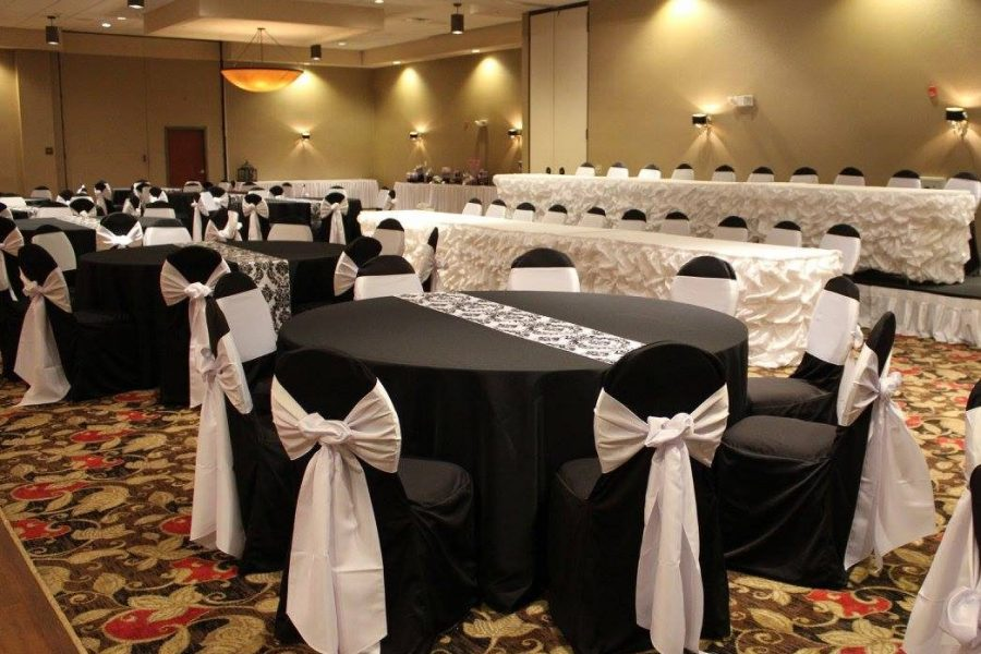 Beautiful linens from All Star Rentals