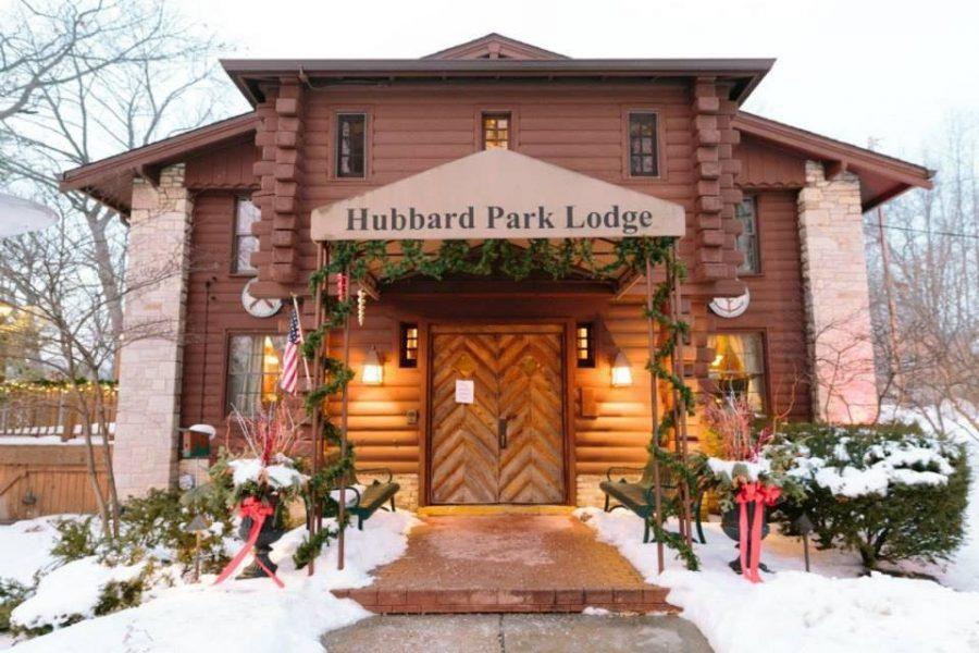exterior of Hubbard Park Lodge