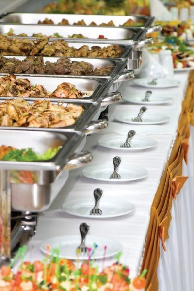 Bubbs Catering Buffet Line