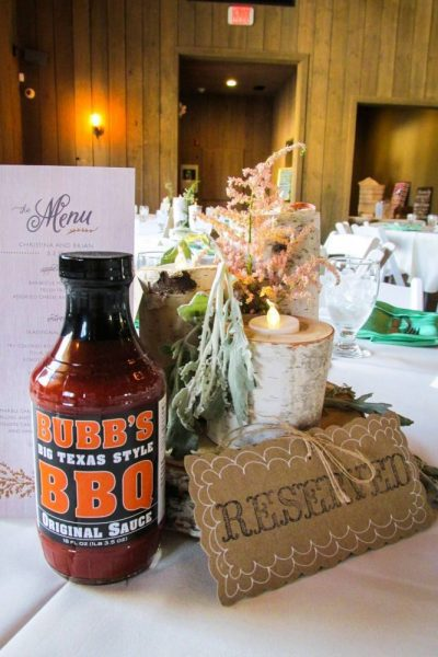 Bubbs Big Texas BBQ Sauce displayed in their retail bottle