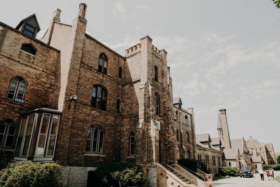 Exterior of the Dekoven Center in Racine, WI