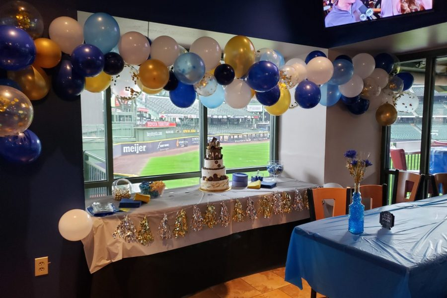 Weddings at the Brew Room at Miller Park