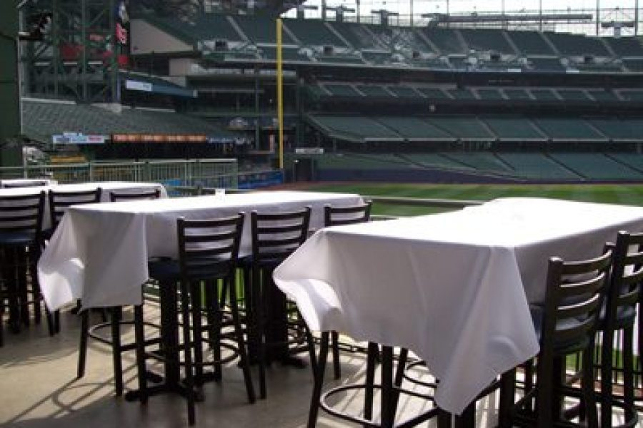 Seating for the Brew Room at Miller Park