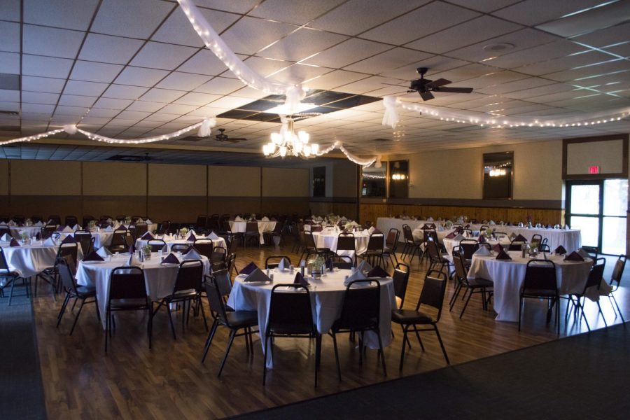 Banquet hall at Sterling Chalet