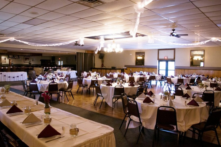 Wedding reception at Sterling Chalet in Richfield WI