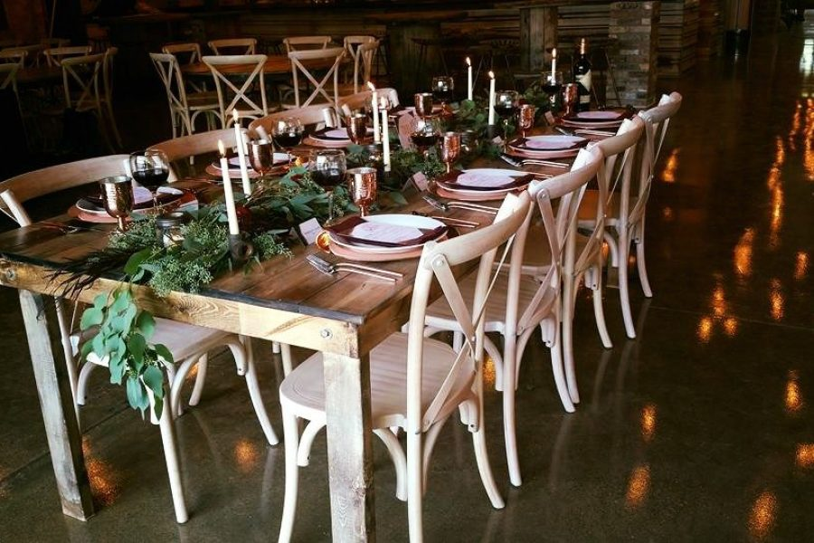 Tablescape at Terrace 167 wedding