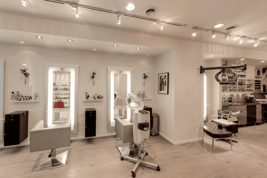 Interior image of Halo Salon