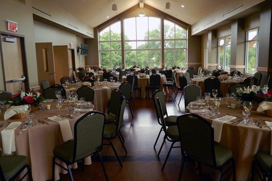 Wedding reception at The Oconomowoc Community Center