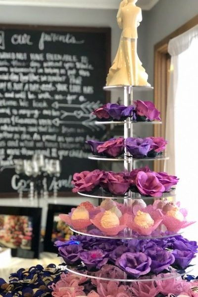 Hand made fabric truffle/chocolate/sweet holders