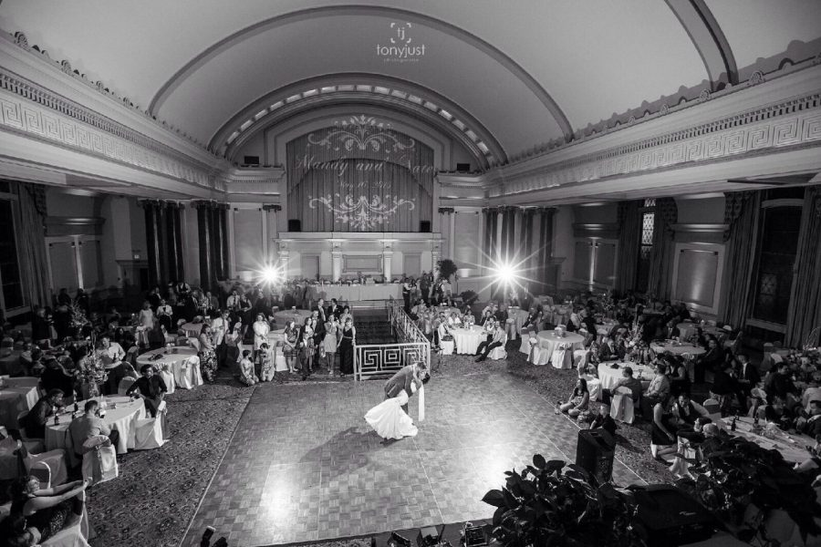 Dancing in the grand ballroom at 1452 Renaissance Place | Milwaukee, WI