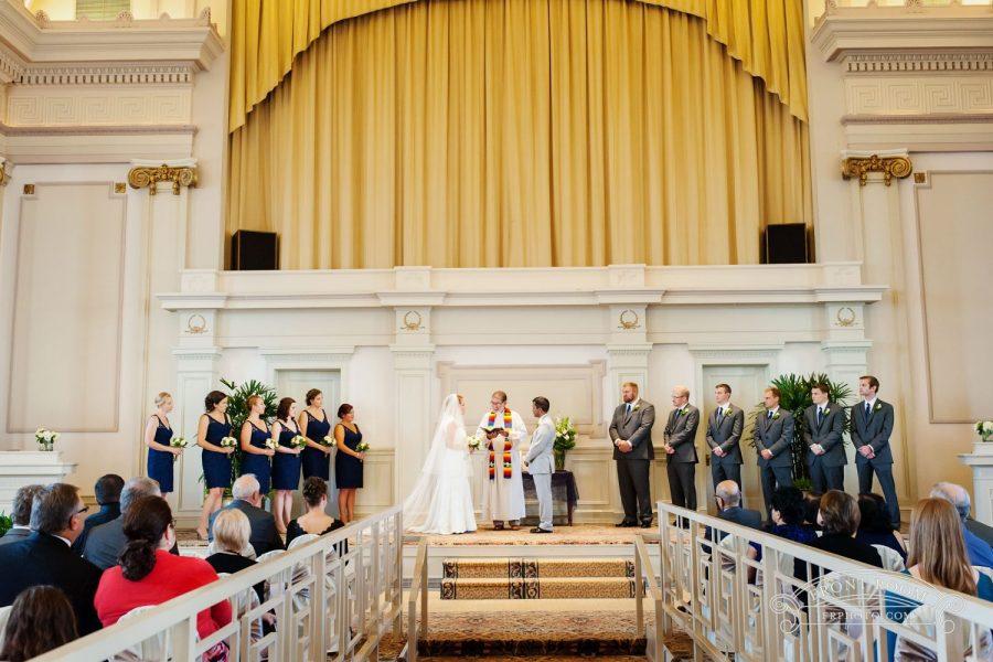 Wedding Ceremony at 1451 Renaissance Place