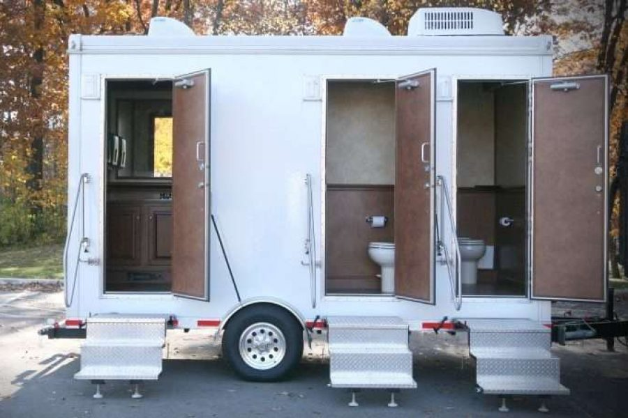 Upscale Portable Restroom