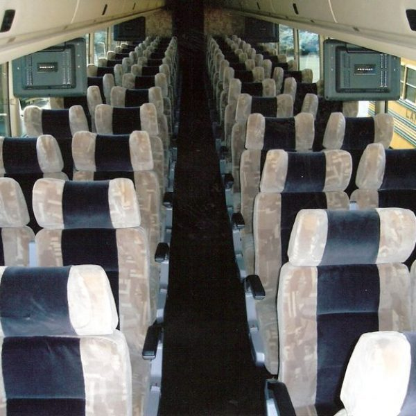 Inside image of Lamers bus