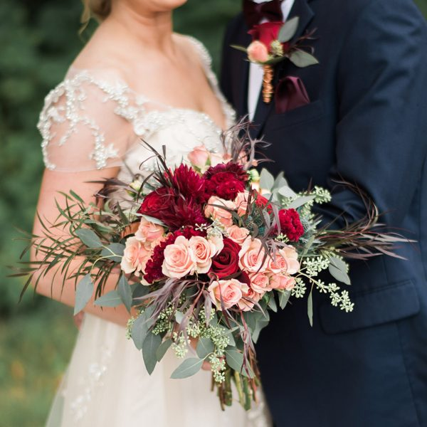 Brilliant bouquet by Alfa Flower & Wedding Shop- Serving Milwaukee and SE Wisconsin