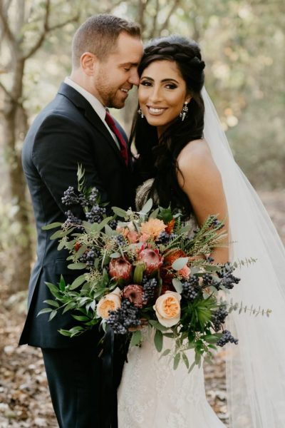 Stunning bridal bouquet perfect for fall by Alfa Flower & Wedding Shop