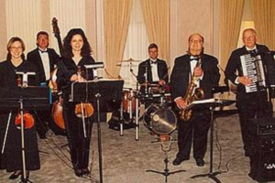 Multiple musicians playing