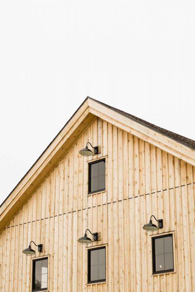 Detail shot of the Barn at Bog