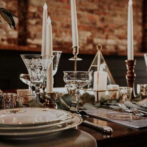 Tabletop designs by Gertrude and Evelyn