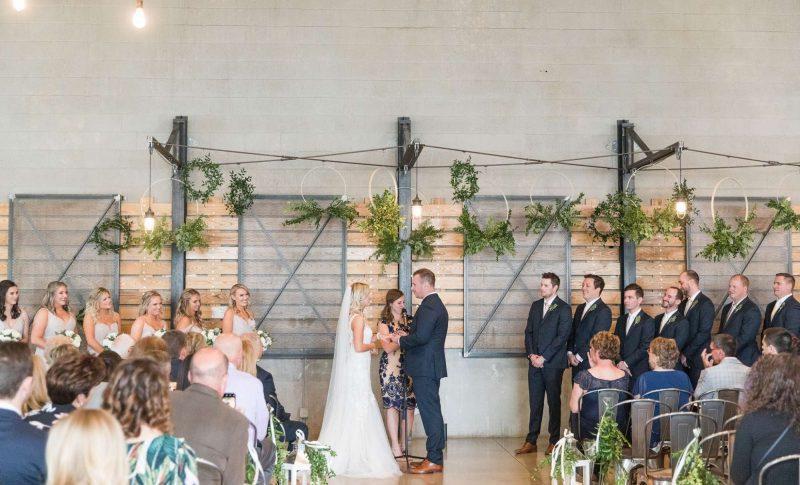 South Second Wedding Ceremony