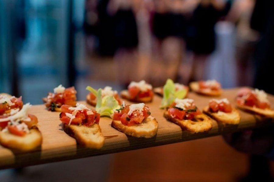 Delicious appetizers at Bartolotta Events & Catering at Discovery World