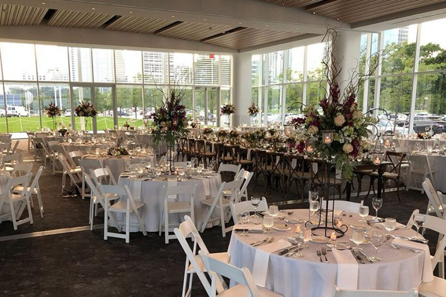 Bartolotta Events & Catering at Discovery World wedding