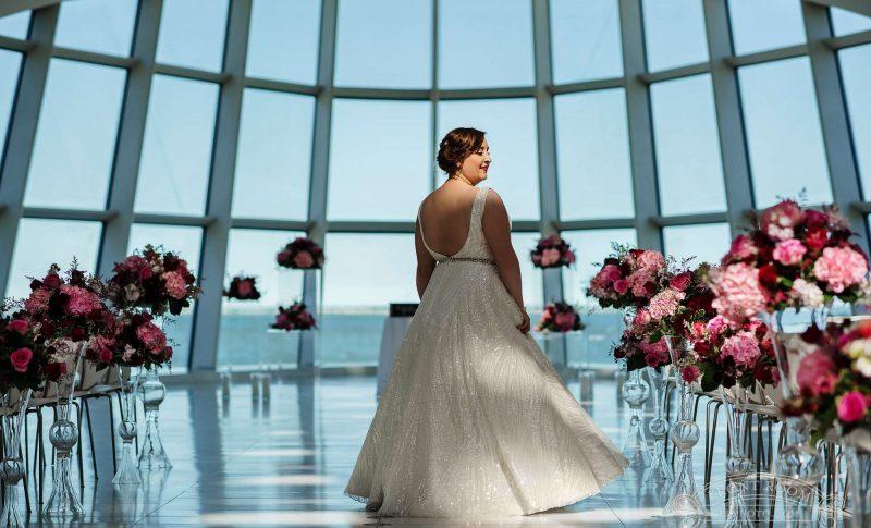 Stunning wedding florals by Alfa Flower & Wedding Shop