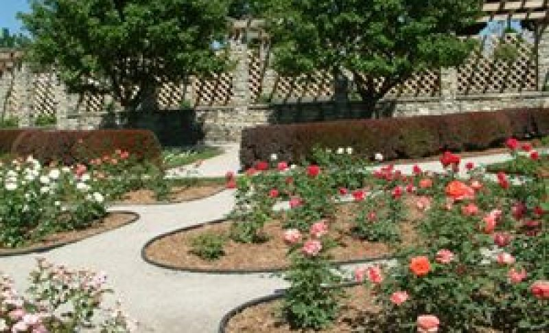 Garden area at Waukesha