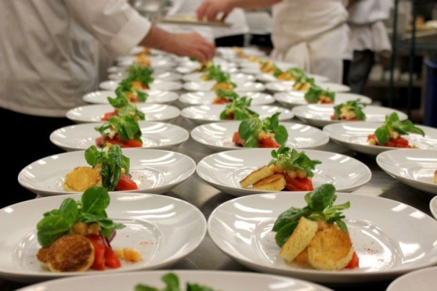 Bacchus plated entrees