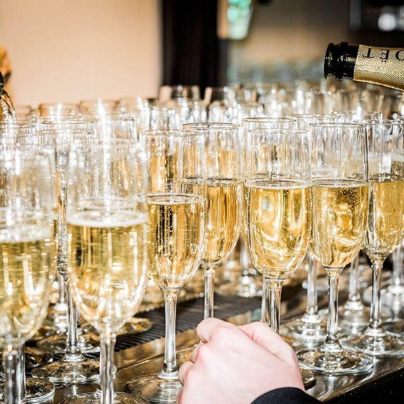 Champagne for wedding celebrations- Bacchus- A Bartolotta Restaurant