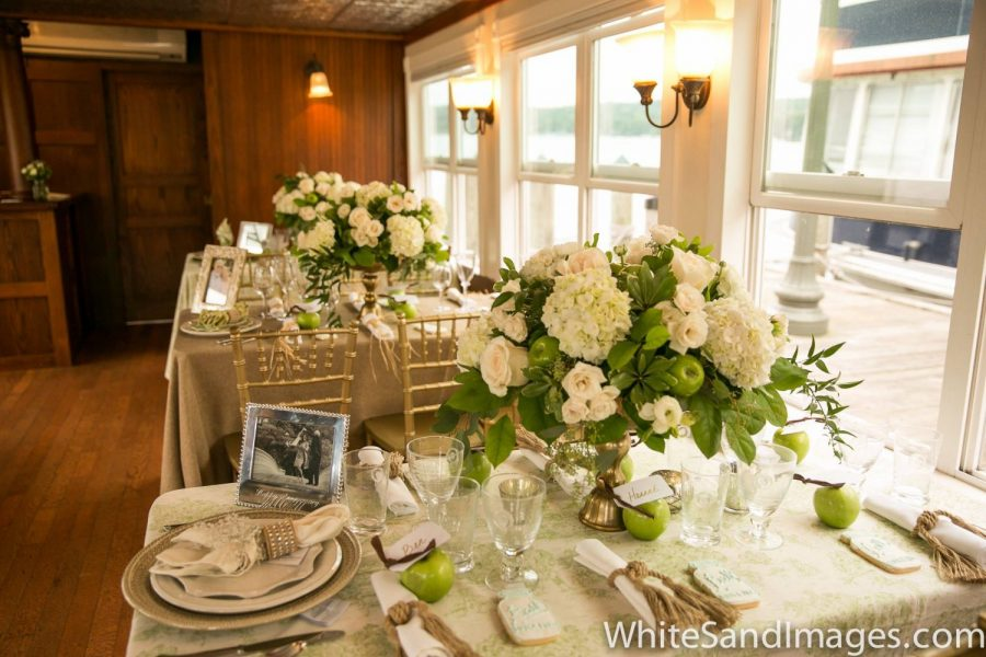 Wedding receptions on the water