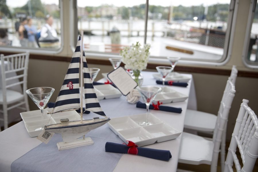 Lake Geneva Cruise Lines wedding reception