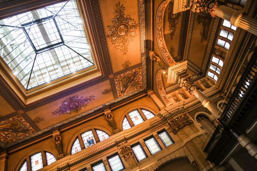 The Grain Exchange in Milwaukee offers grandeur of a bygone era