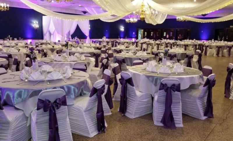 American Serb Hall Wedding Reception