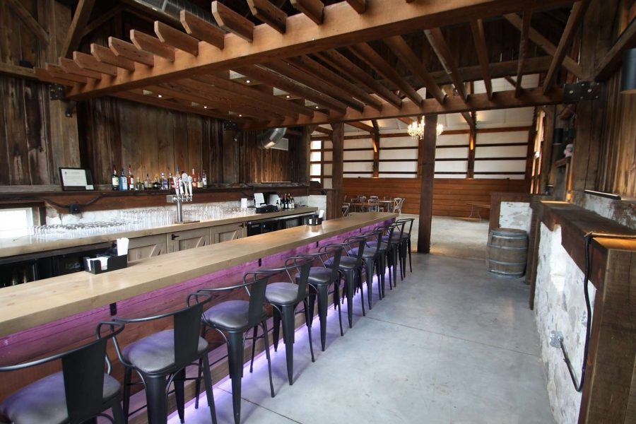 Lilac Acres Bar area
