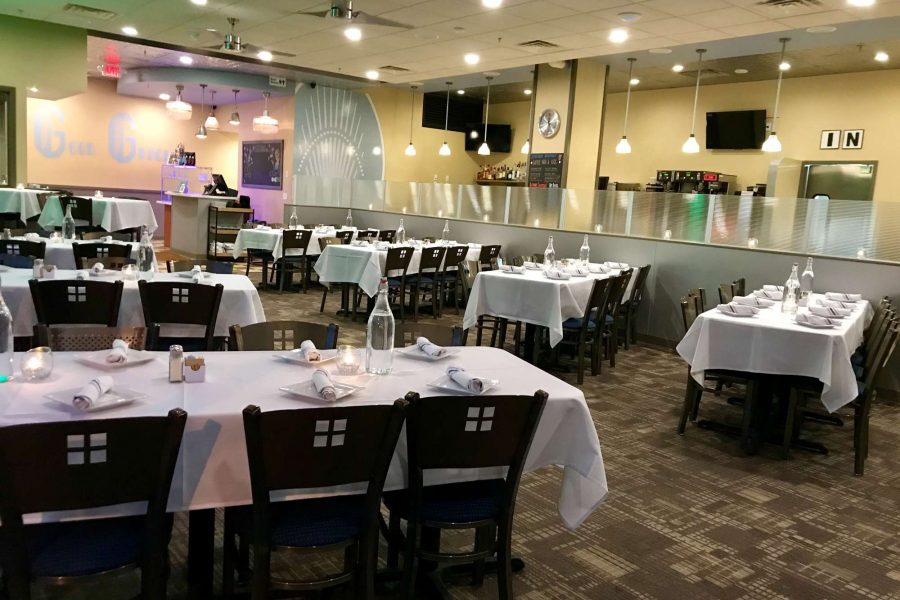 Blue's Egg Shorewood dining space- perfect for private celebrations