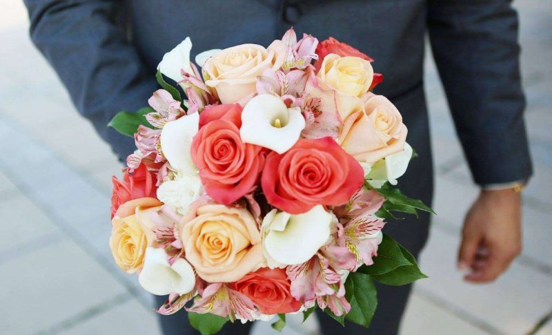 Beautiful bridal bouquet by Creative Floral by Something Borrowed