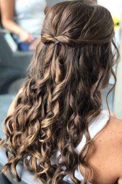 Beautiful wedding hair style by Merle Norman Cosmetic Studios – Brookfield