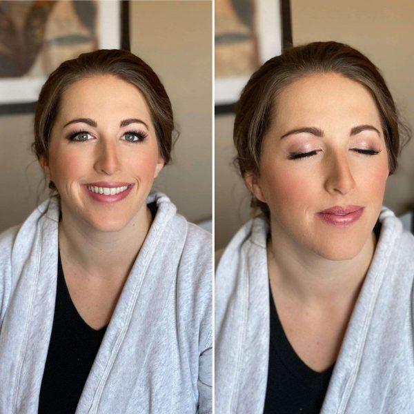 Bridal make-up by Merle Norman Cosmetic Studios – Brookfield