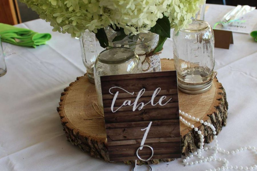 Table number sign