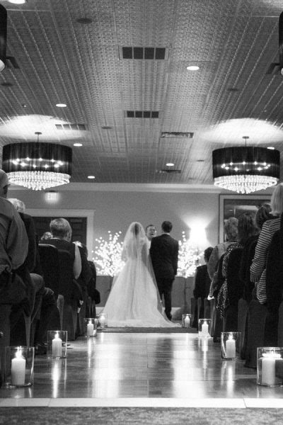 Wedding Ceremony at the Delafield Hotel