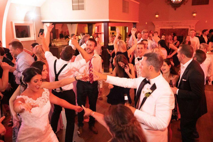 Wedding Reception Dancing at Red Circle Inn