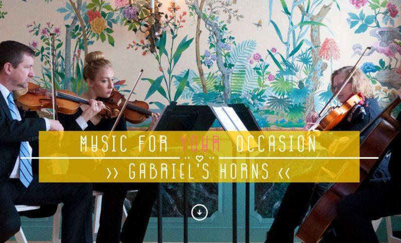 Wedding ceremony string musicians Milwaukee- Gabriel's Horns