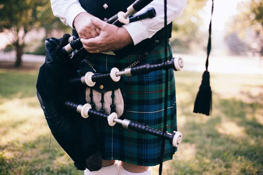 Bagpipes for your wedding day- Gabriel's Horns